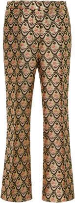 Rochas Brocade Straight Leg Trousers