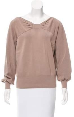 Burberry Ribbed Bateau Sweater