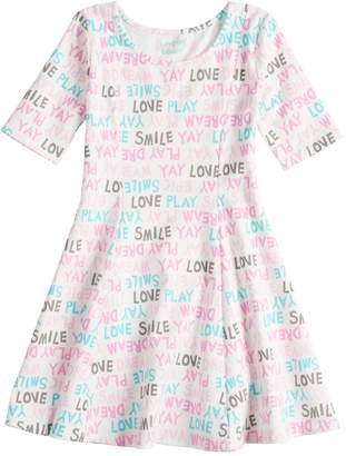 Dockers Girls 4-10 Jumping Beans Princess Seam Dress