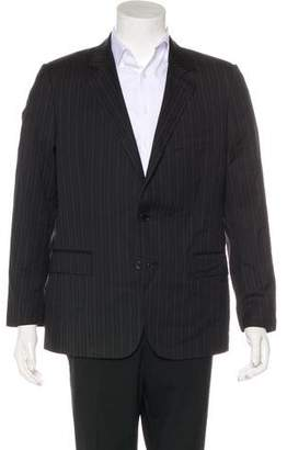 Dolce & Gabbana Virgin Wool & Silk Striped Blazer