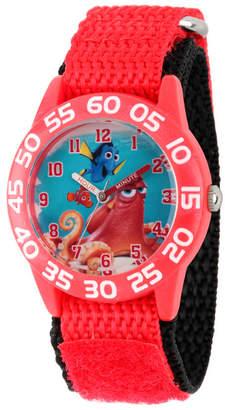 EWatchFactory Disney Finding Dory Nemo, Hank and Dory Boys' Red Plastic Time Teacher Watch