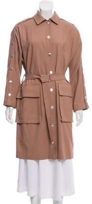 Tibi 2017 Embellished Trench Coat