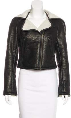 Gryphon Crop Asymmetrical Jacket