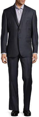 Saks Fifth Avenue Made In Italy Slim Fit Textured Wool Suit
