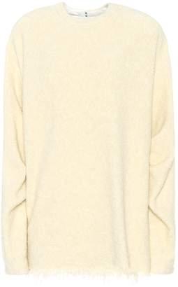 Victoria Beckham Wool and cotton-blend sweater