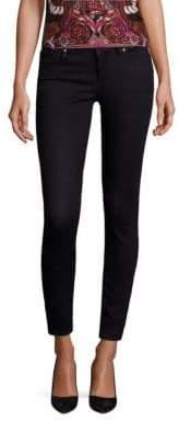 Versace Medusa Stud-Pocket Skinny Jeans