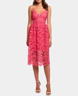 Bardot Sonya Lace Fit & Flare Dress