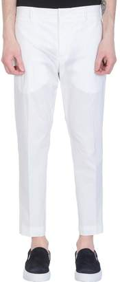 Pt01 White Cotton Pants