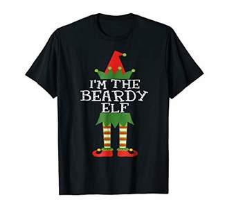 I'm The Beardy Elf Shirt Funny Matching Christmas Costume