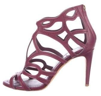 Christian Dior Laser Cut Cage Sandals