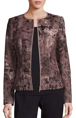 Lafayette 148 New York Maris Essex Jacquard Jacket