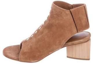 Zero Maria Cornejo Suede Thong Sandals