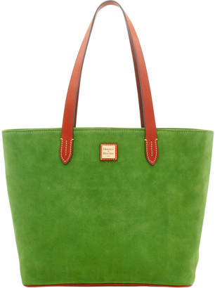 Dooney & Bourke Suede Zip Top Shopper
