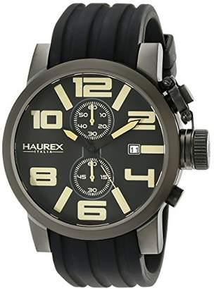 Haurex Italy Men's 6N506UTM TURBINA II Analog Display Quartz Watch