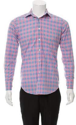 Etro Plaid Woven Shirt
