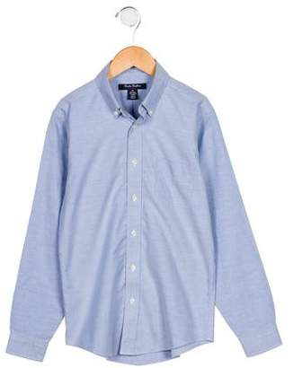 Brooks Brothers Boys' Chambray Button-Up Shirt