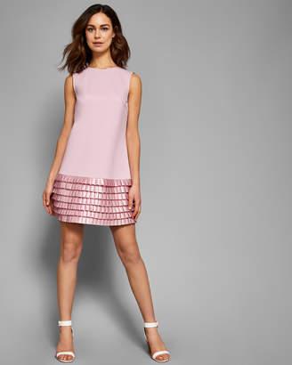 Ted Baker MARGGIA Satin loop shift dress