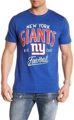 Junk Food Clothing New York Giants Kick Off Tees