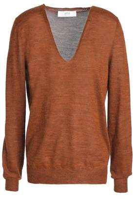 Vanessa Bruno Athe' Hanko Mélange Stretch-Knit Sweater
