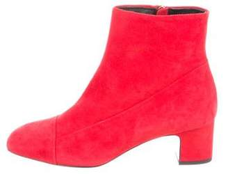 Hermes Square-Toe Ankle Boots