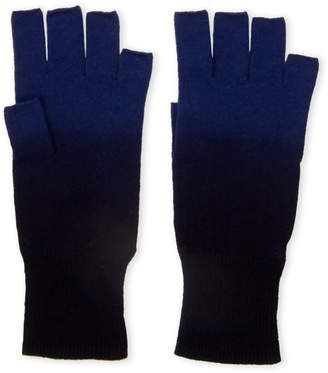 Autumn Cashmere Dip-Dyed Fingerless Cashmere Gloves