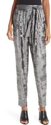 56736dae30b2 Brochu Walker Nives Metallic Velvet Pants