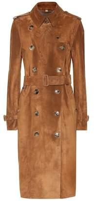 Burberry (バーバリー) - Burberry Suede trench coat