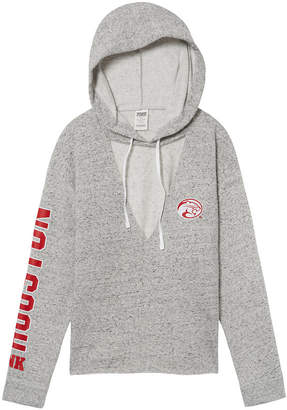 PINK University of Houston Choker Neck Pullover Hoodie