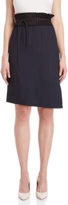 Jil Sander Pleated Waist Midi Skirt