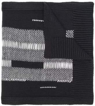 Y-3 chunky knit scarf