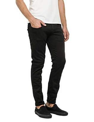 Replay Men's Anbass Slim Jeans, (Black 98), W36/L34 (Size: 36)