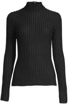 L'Agence Celeste Mock Turtleneck Sweater