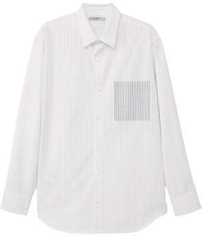 at MANGO MANGO Regular-fit striped cotton shirt