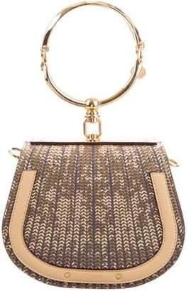 Chloé Metallic Small Nile Bracelet Bag