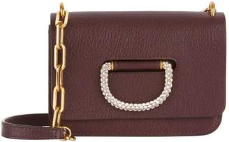 Burberry Mini Leather Crystal D-Ring Bag