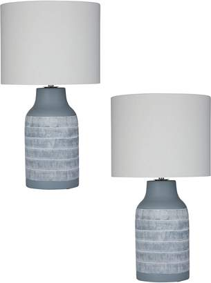 Amalfi by Rangoni Dover Table Lamp (Set of 2)