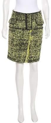 Proenza Schouler Frayed Knee-Length Skirt