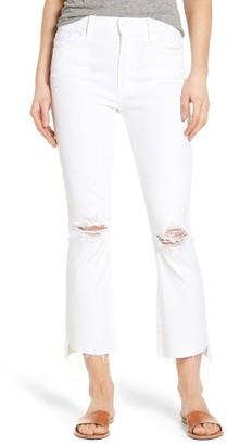 Women's Mother The Insider Step Hem Crop Bootcut Jeans $208 thestylecure.com