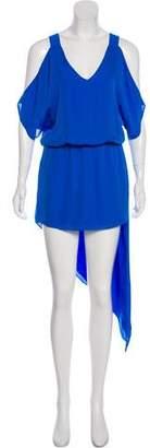 Mason Silk High-Low Dress