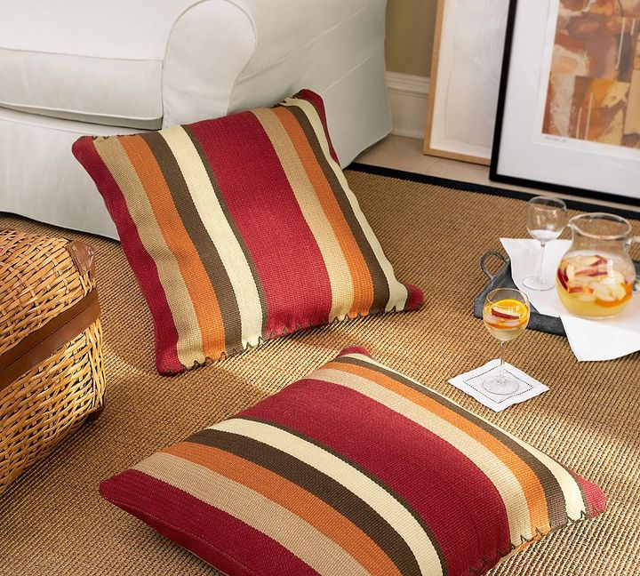 Floor Cushion Pottery Barn : Ask Casa: Where Can I Find These Modern Family Pillows? POPSUGAR Home