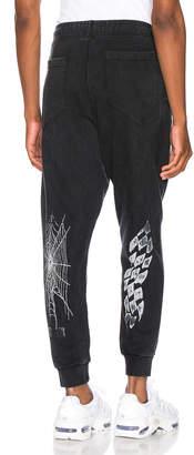 Rhude Jogger Pants in Black | FWRD