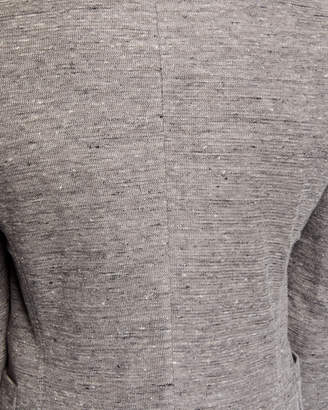 English Laundry Men's Knit Two-Button Blazer, Gray