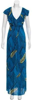 T-Bags LosAngeles Tbags Los Angeles Printed Maxi Dress w/ Tags