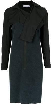 M·A·C Mara Mac detachable shrug dress
