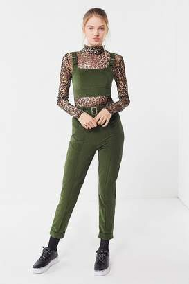 Urban Outfitters Kolby Corduroy Belted High-Rise Pant