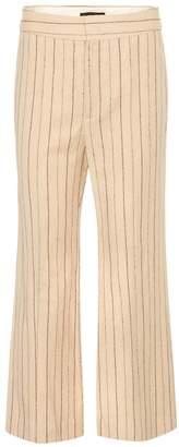 Isabel Marant Keroan linen and wool trousers