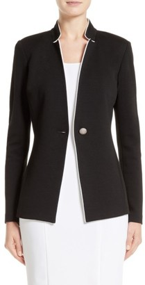 Women's St. John Collection Milano Jacket $995 thestylecure.com