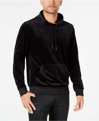 INC International Concepts I.N.C. Men's Velour Hoodie, Created for Macy's