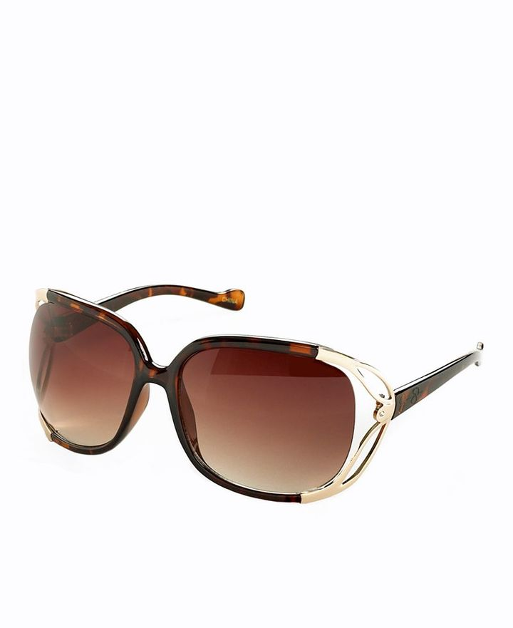 Jessica Simpson Sunglasses, Square with Vented Frames