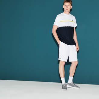 Lacoste Men's SPORT Tennis Colorblock Shorts